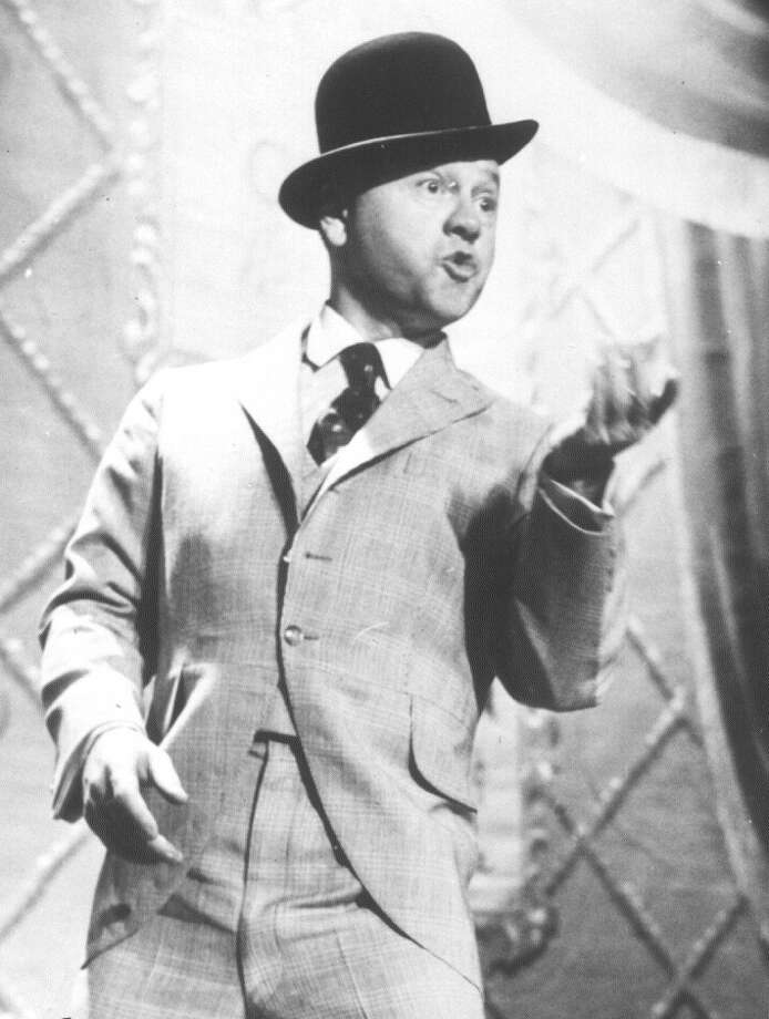 "Mickey Rooney stars in ""Mr. Broadway,"" a tribute to George M. Cohan.