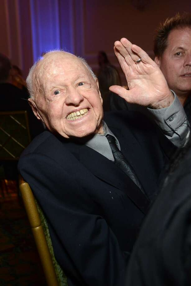 Mickey Rooney attends the the Actors Fund's 17th annual Tony Awards viewing party held at Taglyan Cultural Complex on June 9, 2013 in Hollywood, California. Actor Mickey Rooney died Sunday, April 6, 2014, at age 93. Photo: Araya Diaz, Getty Images
