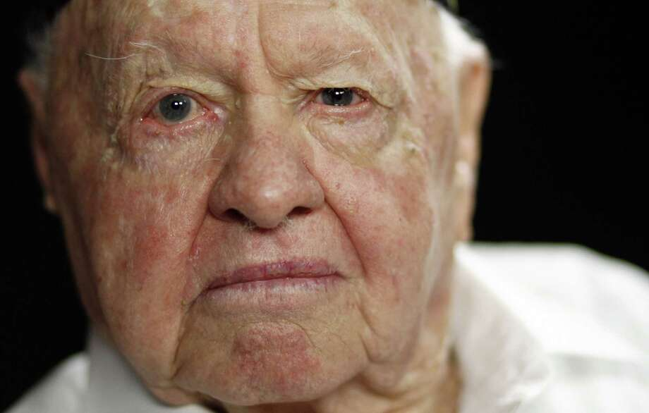 Mickey Rooney during a portrait session in Los Angeles in 2011.Actor Mickey Rooney died Sunday, April 6, 2014, at age 93. Photo: Associated Press File Photo / AP2011