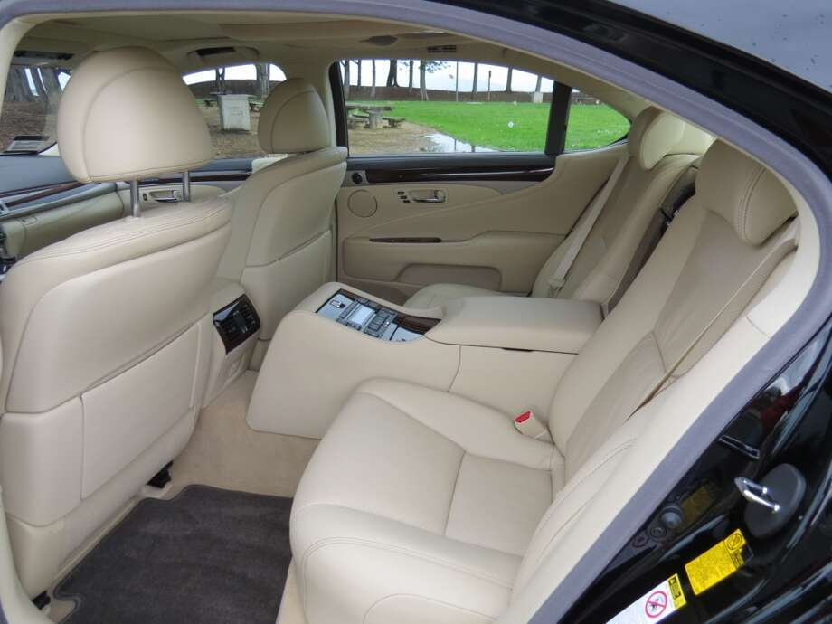 "This car had the $7,555 ""executive-class seating package,"" which reduces the rear seat capacity from three to two passengers."