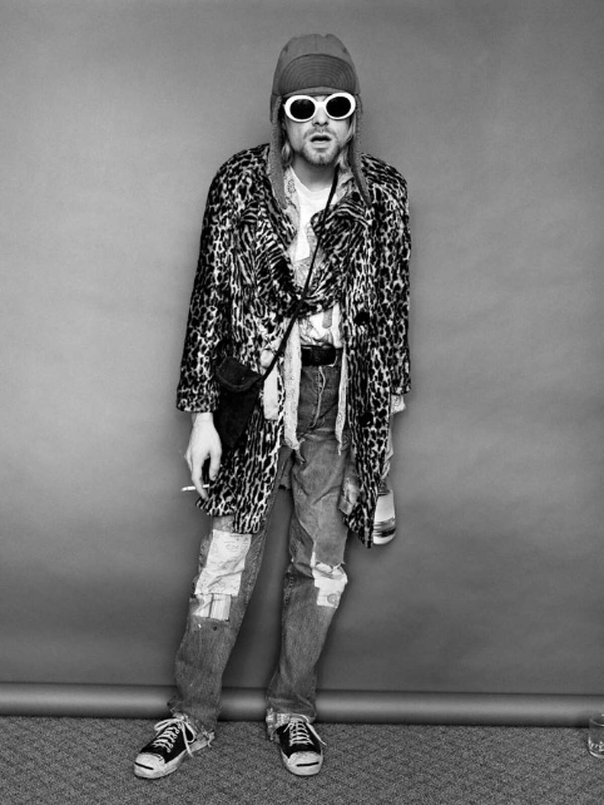 A drug-addled Kurt Cobain was obliging, even playful, for the photo shoot, Jesse Frohman said. Less than six months later, Cobain took his own life.