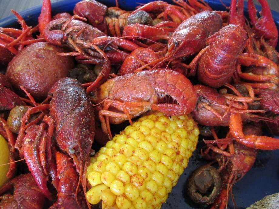 A sampling of C. Diddy s Crawfish Shack offerings. The boiled crawfish is sold separately from the corn, mushrooms and potatoes. Oysters aren't served raw, but that s how they start out. Shrimp etouffee, New Orleans style shrimp and boiled shrimp are all prepared fresh from family recipes. Photo: Cat5