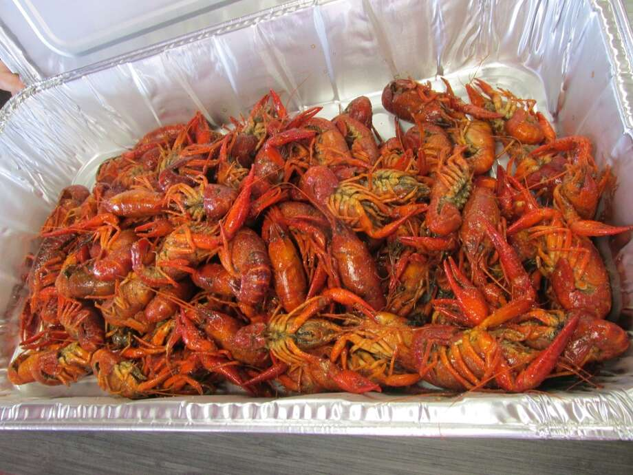A to-go order of crawfish at C. Diddy's Crawfish Shack in Vidor. Photo: Cat5