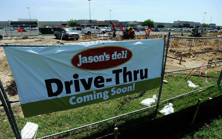 Jason's Deli at Central Mall in Port Arthur is constructing a new standalone building in the mall's parking lot. Photo taken Friday, 4/4/14 Jake Daniels/@JakeD_in_SETX Photo: Jake Daniels / ©2014 The Beaumont Enterprise/Jake Daniels