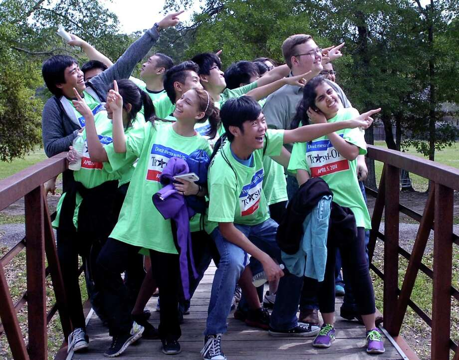 Klein Park6530 Major Drive(File photo) Members of the West Brook Key Club clown around at Klein Park after the third annual Beaumont Trash Off. They were among 583 volunteers who collected about 4.2 tons of trash Saturday morning. Photo: Sarah Moore