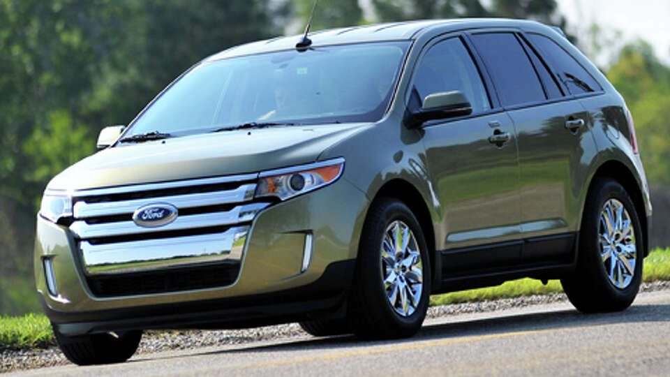 midsize and large suvs ford edge msrp 28 100source consumer reports photo sfgate. Black Bedroom Furniture Sets. Home Design Ideas