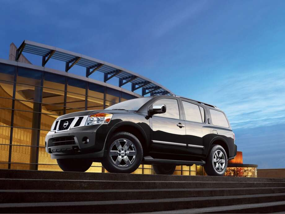 Midsize and large SUVs:Nissan Armada:MSRP: $37,240Source: Consumer Reports