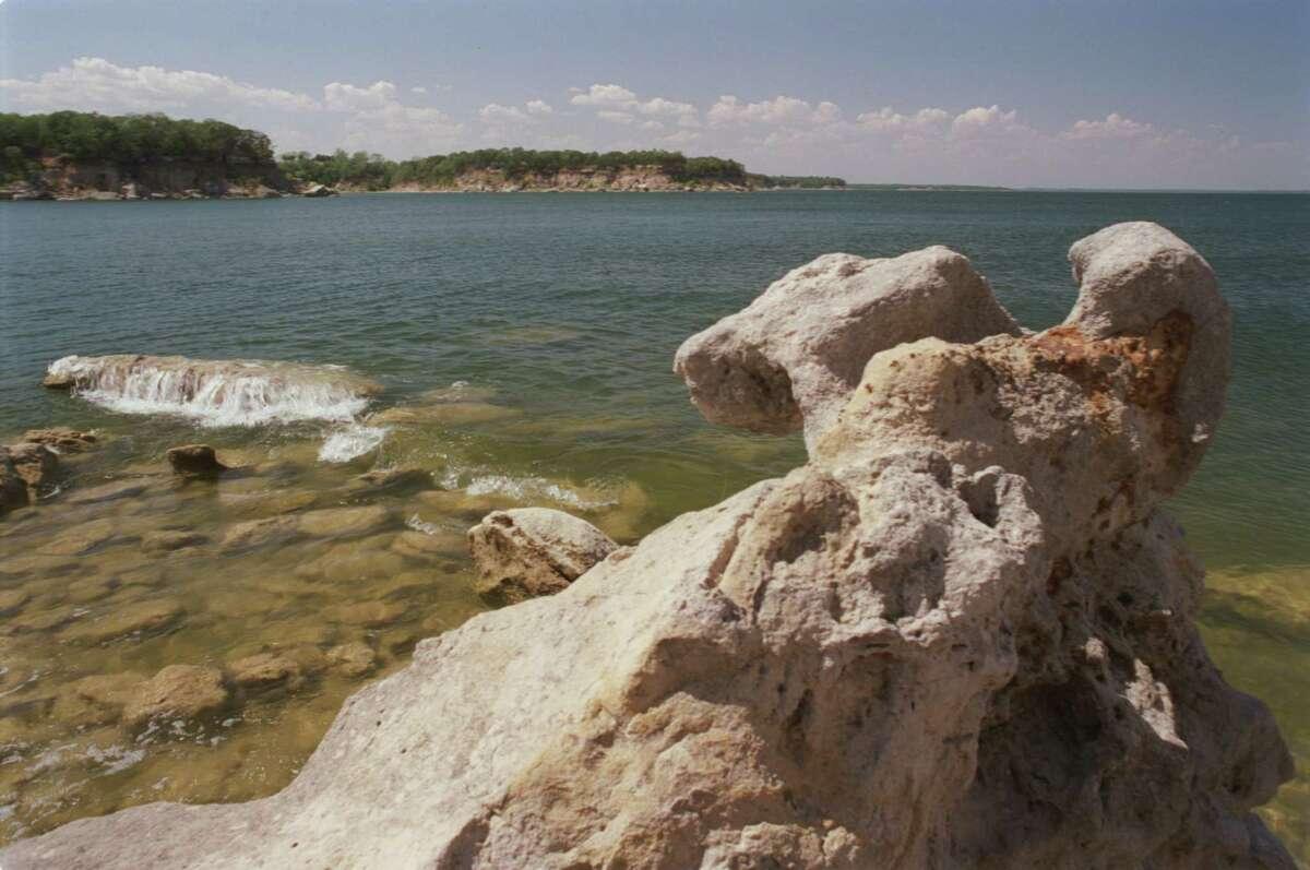 Lake Texoma (Texas and Oklahoma) Percent full inJuly2015: 100