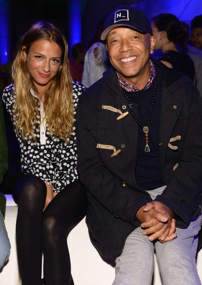 Charlotte Ronson and Russell Simmons attend the SpongeBob SquarePants themed, 41st birthday party for Pharrell Williams  at Bikini Bottom at Cipriani Wall Street on April 4, 2014 in New York City. Photo: Dimitrios Kambouris, Getty Images For Nickelodeon