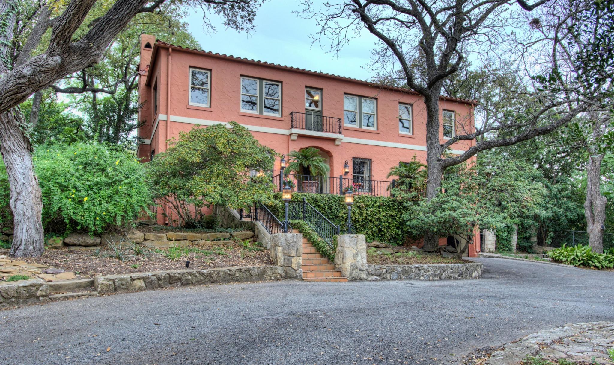 True Historic Treasure In Olmos Park San Antonio Express