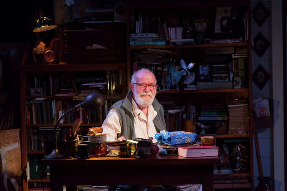 "The 81-year-old South African playwright Athol Fugard is starring in his new drama ""The Shadow of the Hummingbird"" running through April 27 at Long Wharf Theatre in New Haven. Photo: Contributed Photo, Contributed Photo / Connecticut Post Contributed"