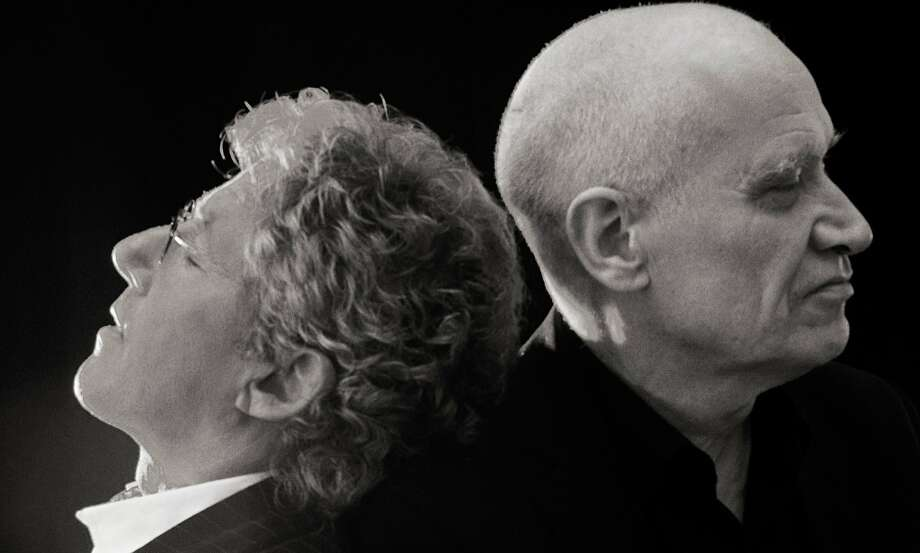 Roger Daltrey and Wilko Johnson. Photo: Chess Records