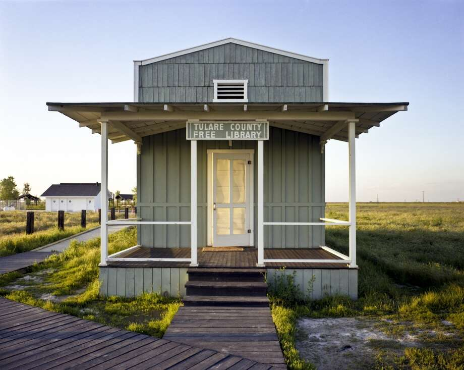 Library built by ex-slaves, Allensworth, CA. Photo by Robert Dawson
