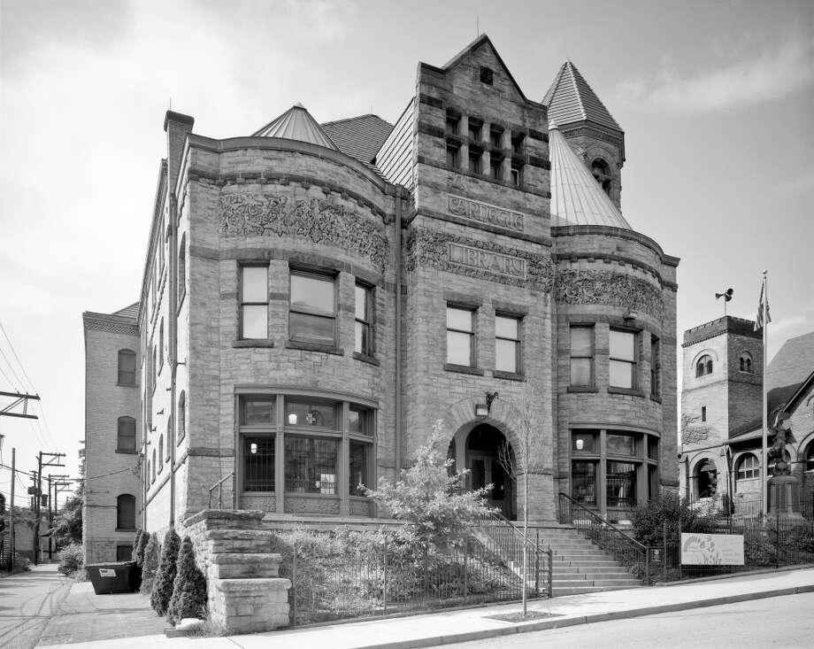 First Carnegie Library, Braddock, PA. Photo by Robert Dawson