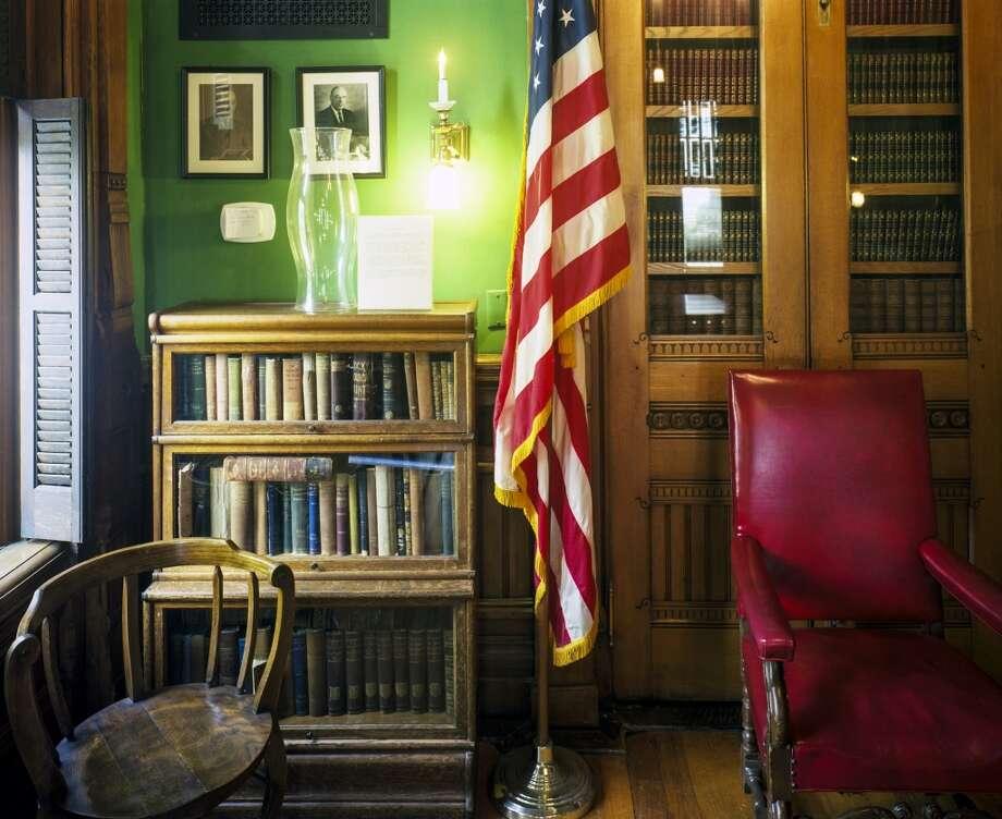 Interior of the Willard Library in Evansville, Indiana. Photo by Robert Dawson.
