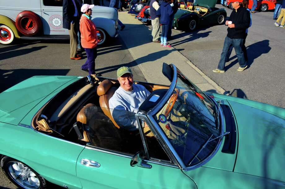 The second Caffeine and Carburetors Car Show of the season is this Sunday in New Canaan. Find out more.  Photo: Jeanna Petersen Shepard, Freelance Photo / New Canaan News freelance