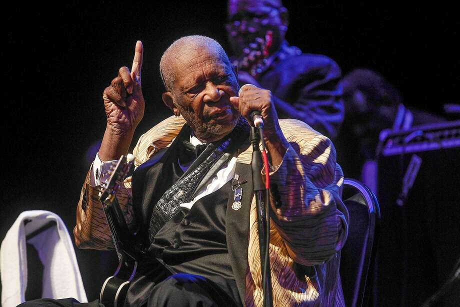 B.B. King received some rough reviews from people who attended his show in St. Louis on Friday. Photo: Sarah Conard, Associated Press