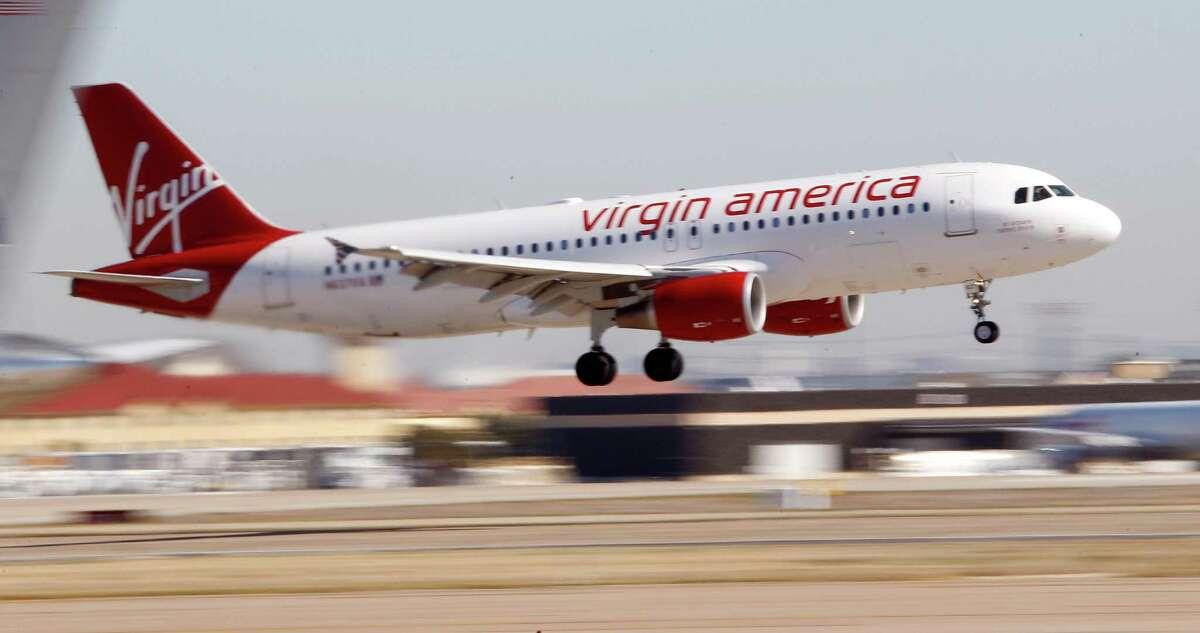 Airline: Virgin AmericaSeat pitch: 32 inchesSeat width: 17.7 inchesSource: Washington Post