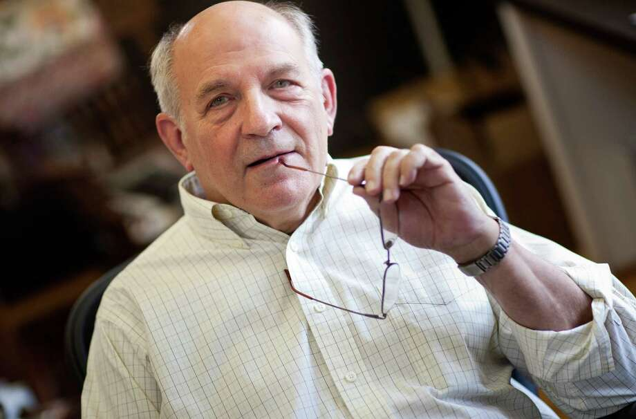 Charles Murray, a controversial social scientist at the American        Enterprise Institute, has long advocated for a generous basic income as        a replacement for programs such as Social Security. Photo: BRENDAN SMIALOWSKI, STR / NYTNS