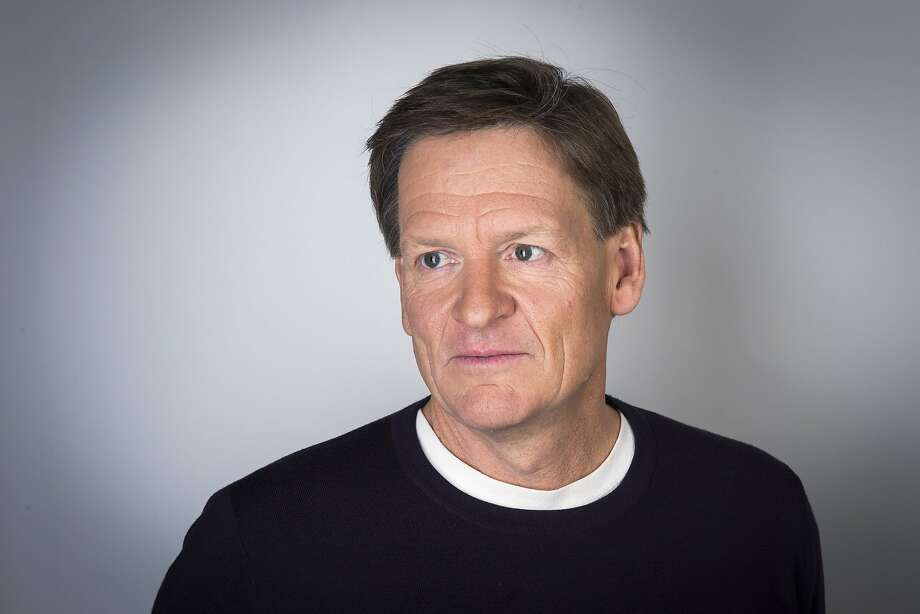 "Author Michael Lewis' book ""Flash Boys: A Wall Street Revolt"" reveals how the market is rigged by high-speed trading on Wall Street. Photo: Lucas Jackson, Reuters"