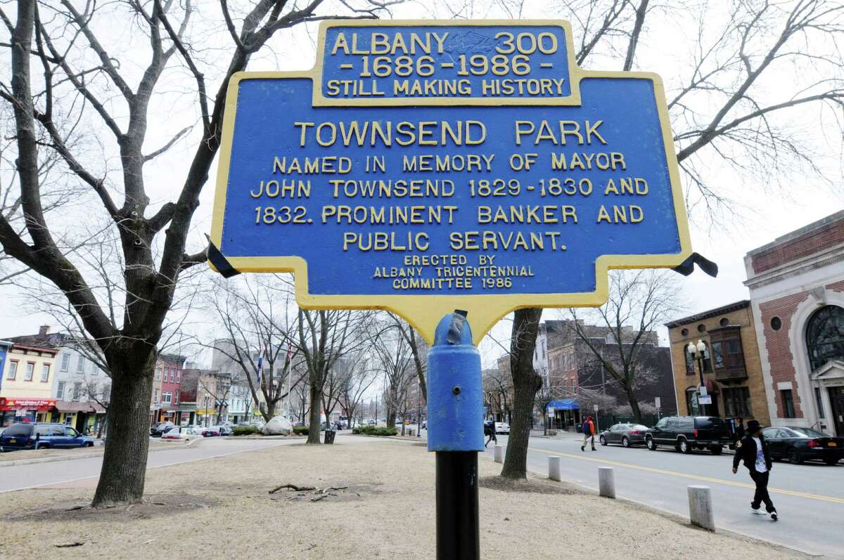 A view of Townsend Park on Wednesday, April 2, 2014, in Albany, N.Y. (Paul Buckowski / Times Union)