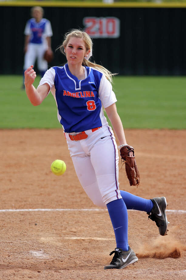 Former Vidor star Gia Johns is currently in her first season at Angelina College. Photo courtesy of Angelina College