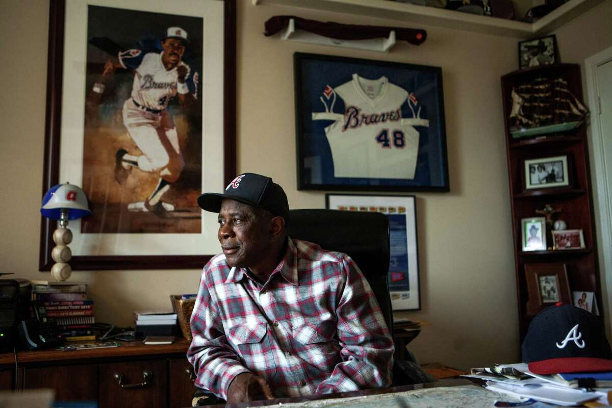 Richmond resident Ralph Garr was right at home Sunday reminiscing about his baseball career, which included a batting title in 1974, the same year teammate Hank Aaron hit home run No. 715.