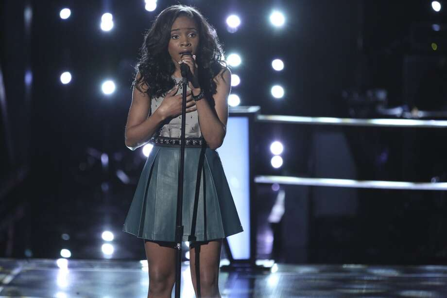 "Deja Hall wins second battle round on ""The Voice"" and advances to playoffs rounds. Photo: Tyler Golden, NBC"
