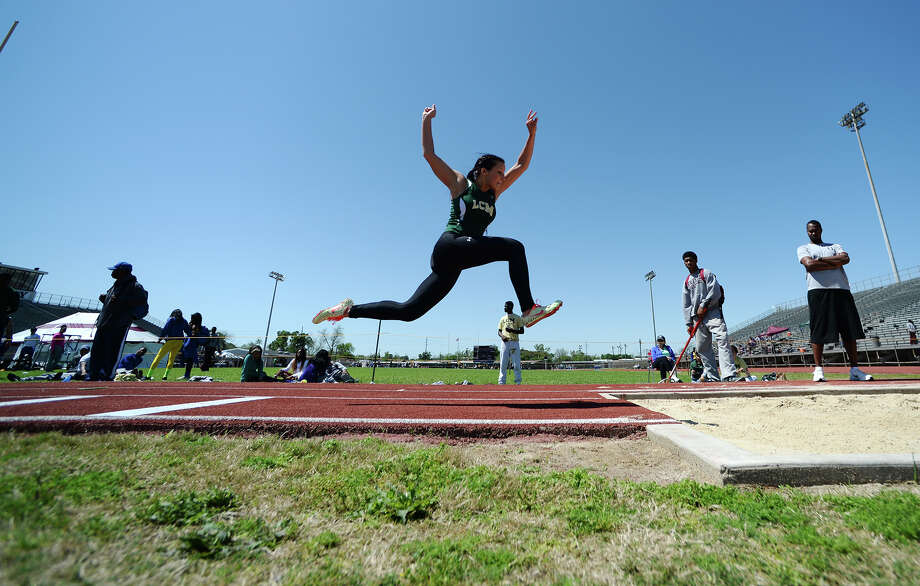 The District 20-4A track meet was held at Babe Zaharias Park on Monday.