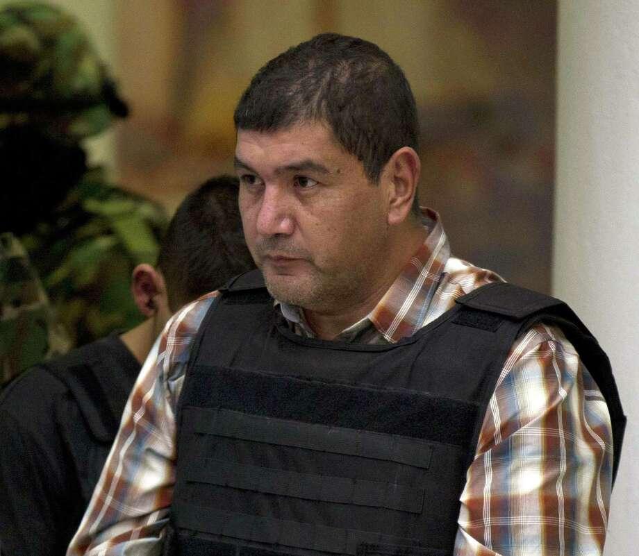 "Iván ""El Taliban"" Velázquez Caballero ran lucrative drug trafficking corridors around Nuevo Laredo, Mexico. Photo: Associated Press File Photo / AP"