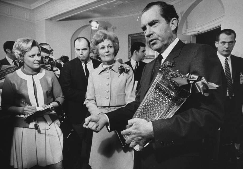 In the news: The Nixon presidency (Getty Images) Photo: John Olson, Time & Life Pictures/Getty Image