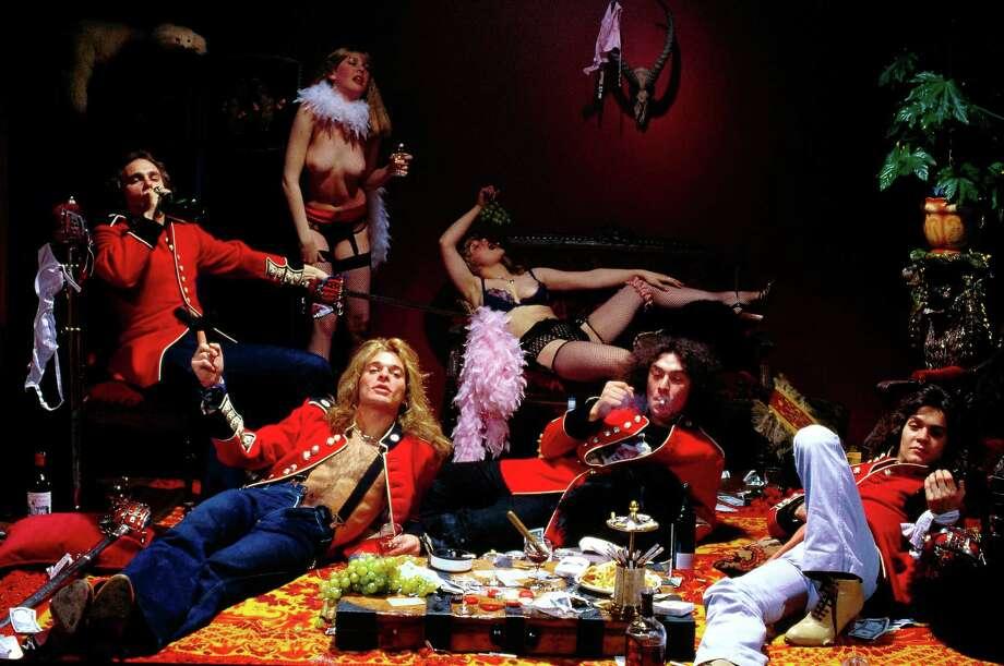 Michael Anthony, David Lee Roth, Alex Van Halen, Eddie Van Halen in 1978. Photo: Fin Costello, Redferns / Redferns