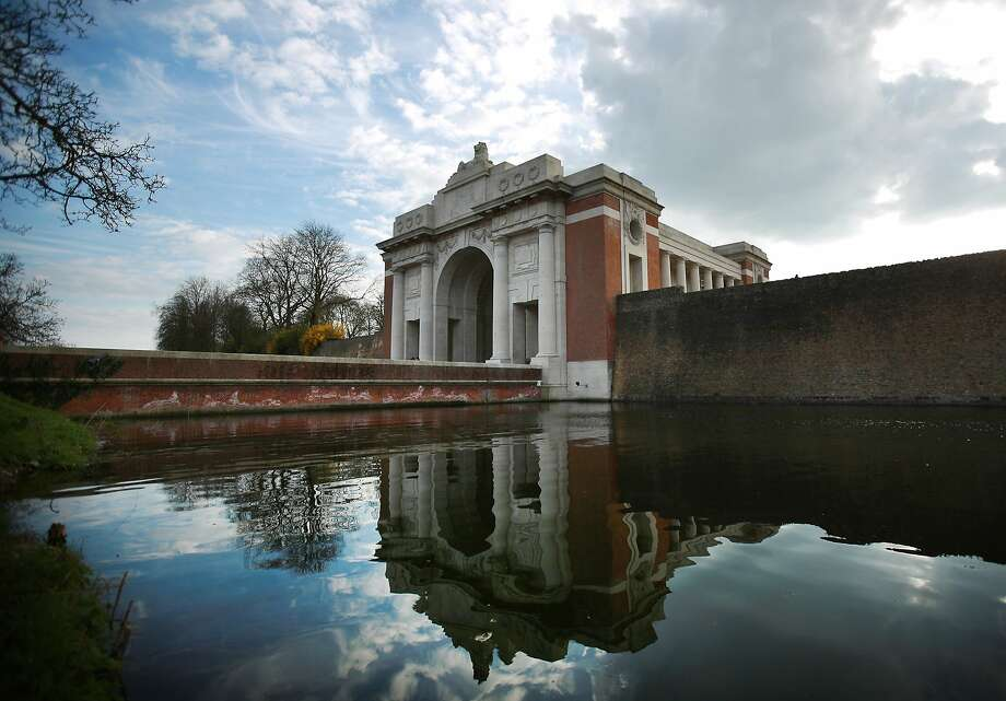 The Menin Gate Memorial to the Missing in Ypres, Belgium. A number of events will be held this year to commemorate the centenary of the start of World War One. Photo: Peter Macdiarmid, Getty Images