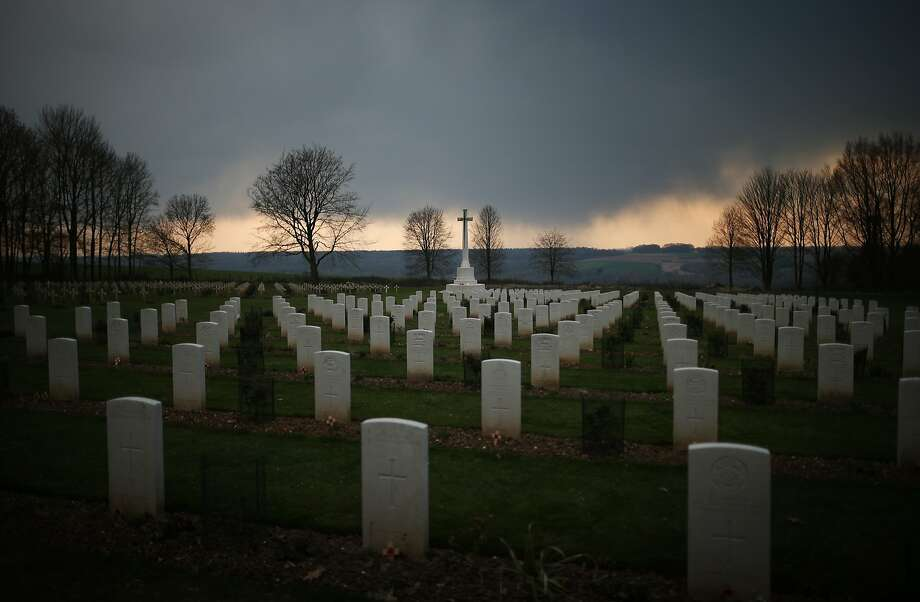 In June 28 1914,Archduke Franz Ferdinand of Austria was assassinated by a Bosnian Serb which led to a chain of events triggering World War I. The United States entered the conflict on April 6, 1917.Here is a look at some of the sites of the Great War, 100 years later. Photo: Peter Macdiarmid, Getty Images