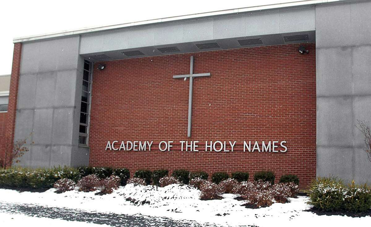 Academy of Holy Names (Albany) . Number of graduates attending college: 55. Total percentage of students going to college: 100%. View statewide report.