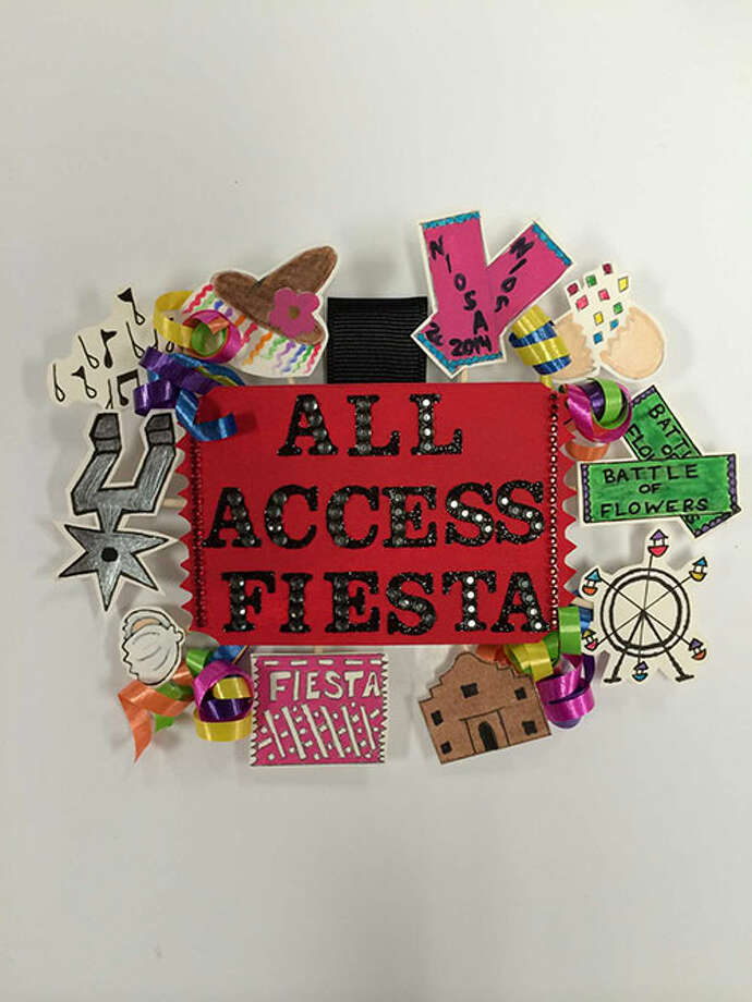 My Ticket To Fiesta by Deborah Solis Photo: Rene A. Guzman