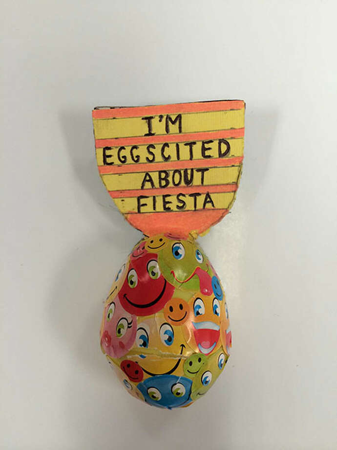 I'm Eggscited About Fiesta by Rudy G. Sifuentes Photo: Rene A. Guzman