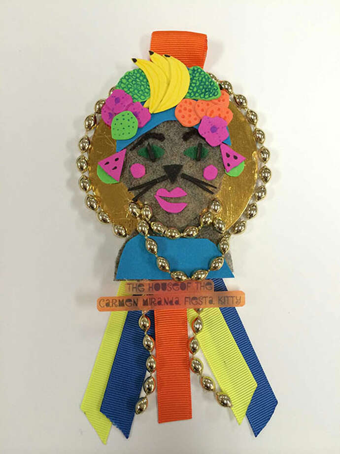 House of the Carmen Miranda Fiesta Kitty by Yvette Marie Coronado Photo: Rene A. Guzman