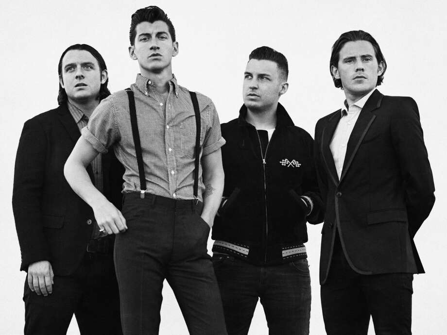 Arctic Monkeys. Photo: Sebastian Kim