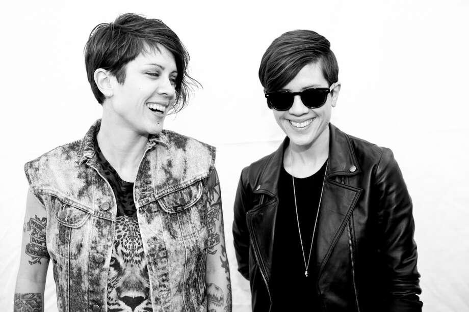 Tegan and Sara.