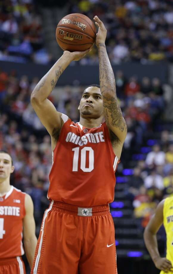 LaQuinton Ross  Position: Forward  Ht./Wt: 6-8/220 lbs  School: Ohio State  Classification: Junior   2013-14 stats: 15 points, six rebounds, one assist per game Photo: Michael Conroy, Associated Press