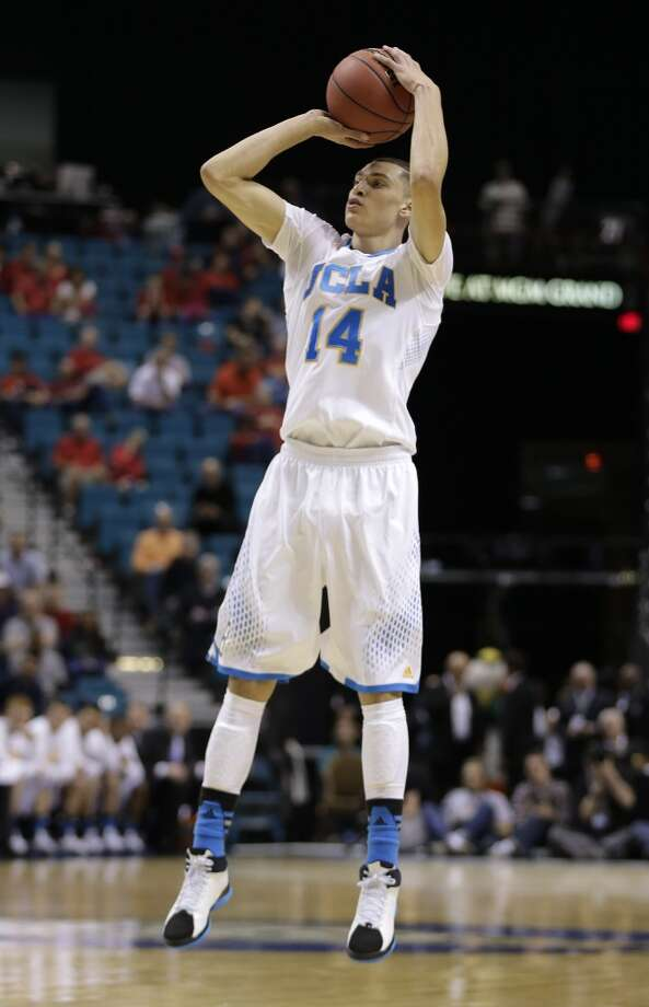 Zach LaVine  Position: Guard  Ht./Wt: 6-5/180 lbs  School: UCLA  Classification: Freshman   2013-14 stats: Nine points, three rebounds, two assists per game Photo: Julie Jacobson, Associated Press