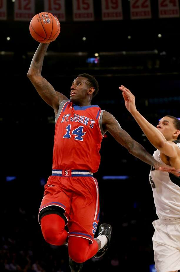 JaKarr Sampson  Position: Forward  Ht./Wt: 6-9/215 lbs  School: St. John's  Classification: Sophomore  2013-14 stats: 13 points, six rebounds, 1 assist per game Photo: Elsa, Getty Images