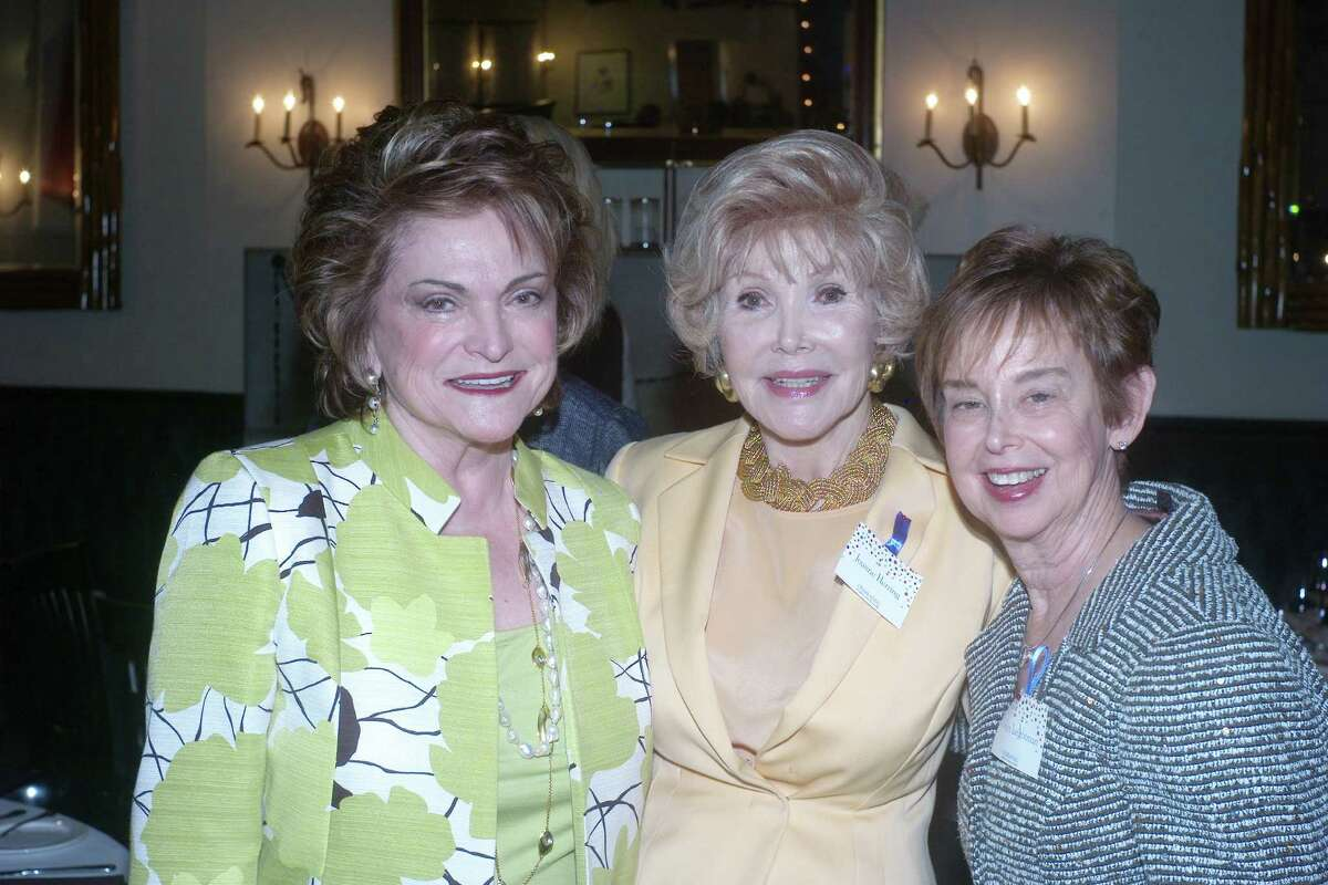 Beth Wolff, from left, Joanne Herring and Evelyn Leightman