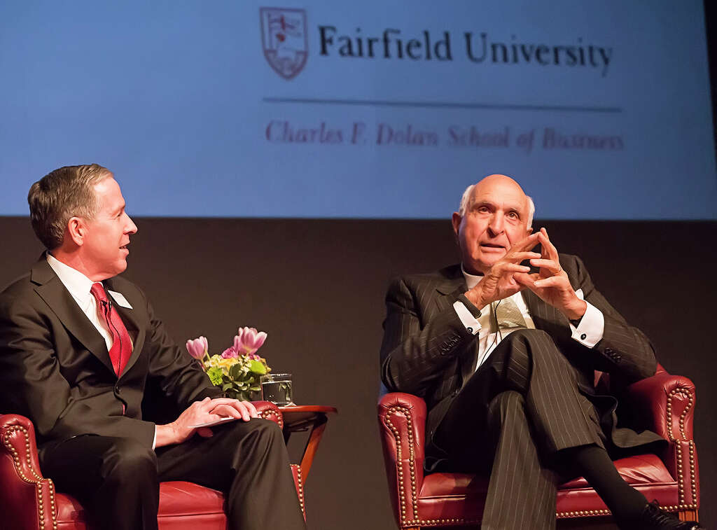 news article Home Depot s Langone imparts business wisdom on