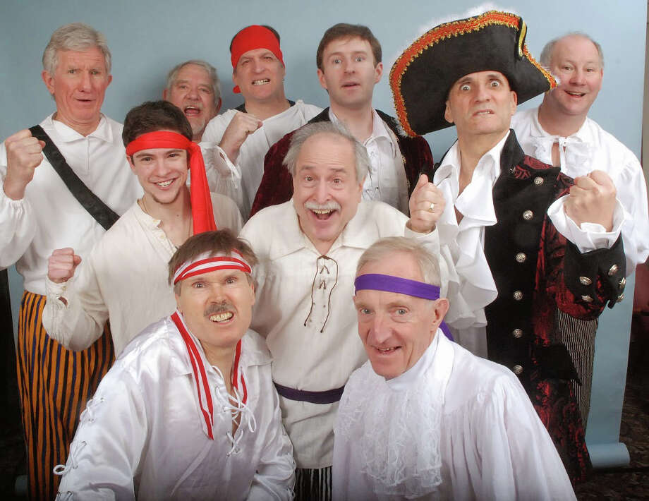 """The Pirates of Penzance"" as presented by the Troupers Light Opera, will be staged on Saturday, April 12, 2014, 2:30 and 7:30 p.m., at the Rippowam School, 381 High Ridge Road, Stamford, Conn. For information, visit http://trouperslightopera.org. Photo: Contributed Photo / Connecticut Post Contributed"