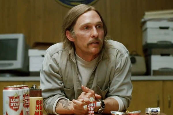"Detective Rustin Spencer ""Rust"" Cohle on HBO's True Detective. (HBO)"