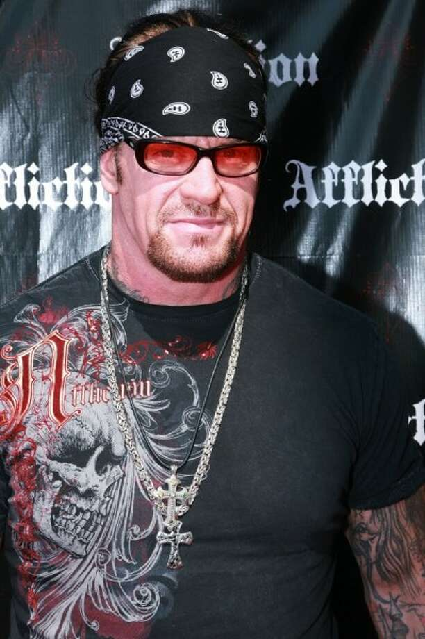 WWE wrestler The Undertaker was born Mark William Calaway in Houston.