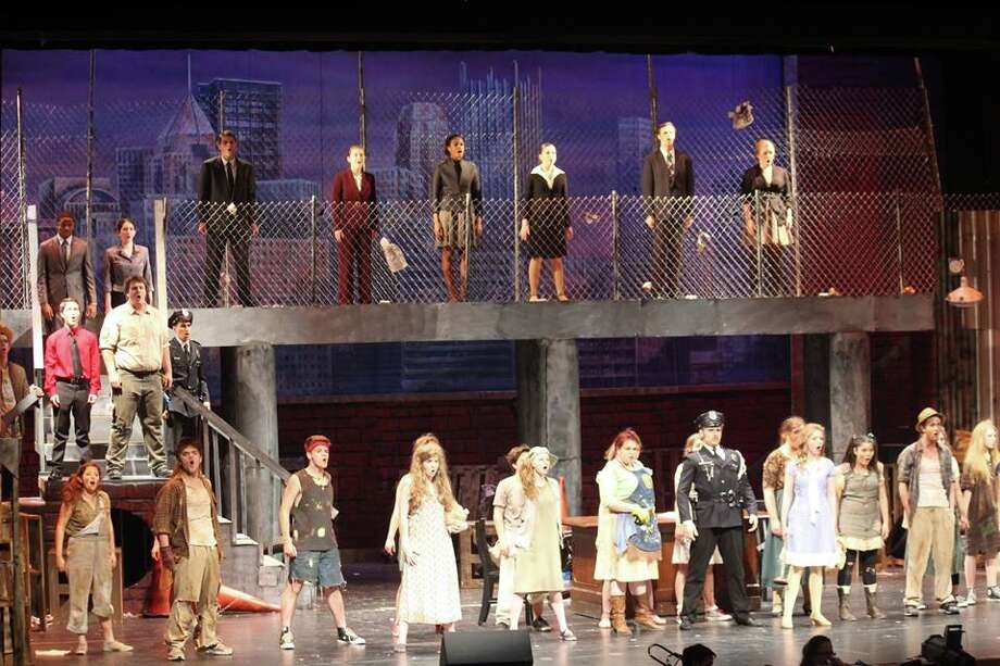 "Clear Springs High School's ""Urinetown the Musical"" has been nominated for best musical.      Clear Springs High School's ""Urinetown the Musical"" has been nominated for best musical."
