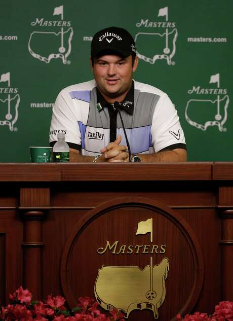 Amateur Patrick Reed speaks during a press conference at the Masters golf tournament Monday, April 7, 2014, in Augusta, Ga. (AP Photo/Darron Cummings) Photo: Darron Cummings, Associated Press / AP